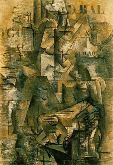 37-Braque, Le Portugais 1911 2